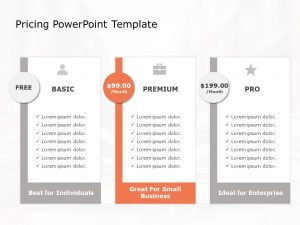Product Pricing Strategy Template