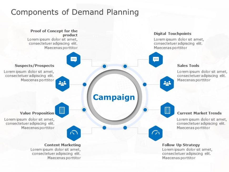 Marketing Demand Planning Template