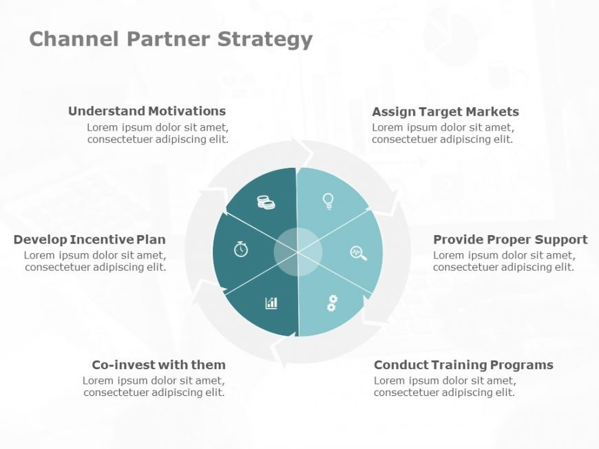 Marketing Channels Strategy PowerPoint Template