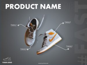 Shoe Poster Powerpoint