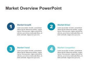 Market Overview PowerPoint Template 1