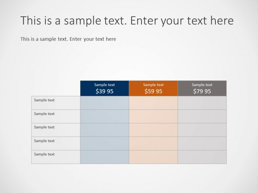 Product Pricing Powerpoint Template