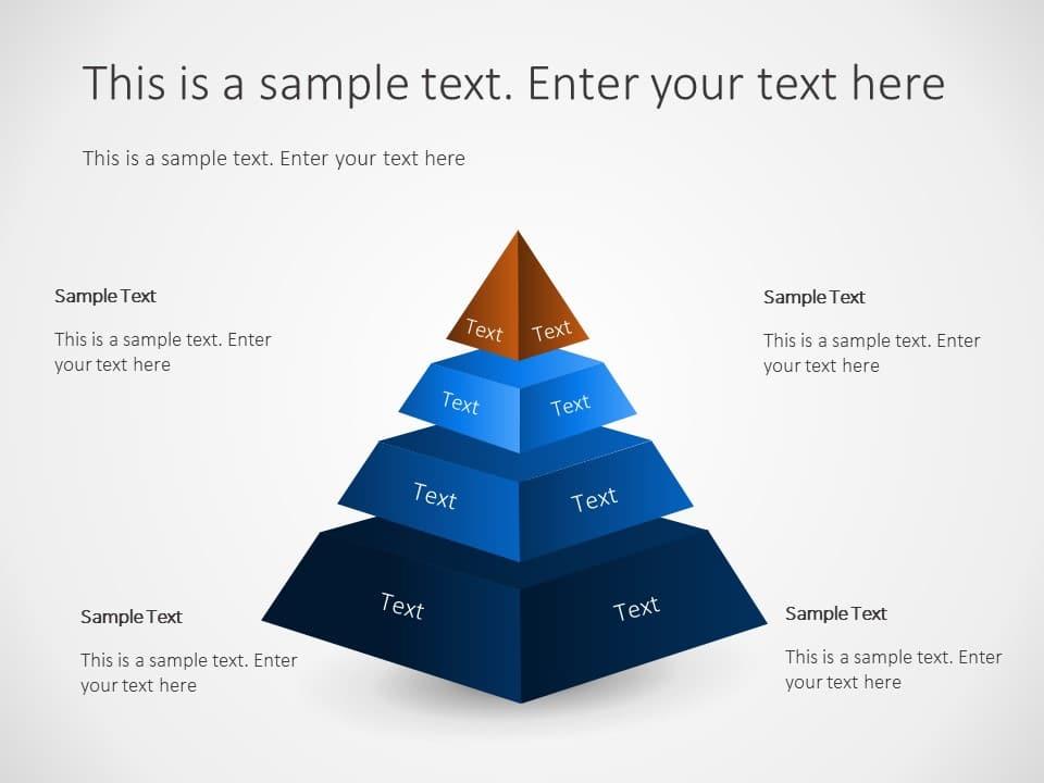 Corporate Pyramid Structure Powerpoint Template Slideuplift
