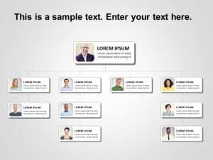 Org Chart PowerPoint Template 13