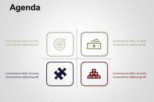 Agenda PowerPoint Template 6