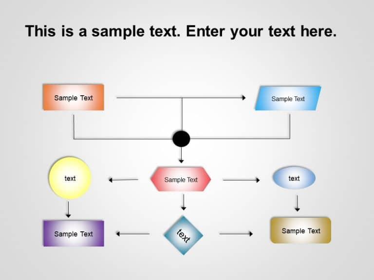 Flow Chart PowerPoint Template 2