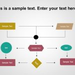 Free Flow Chart PowerPoint Template 1