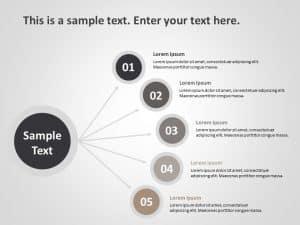 5 Steps Business Goals PowerPoint Template