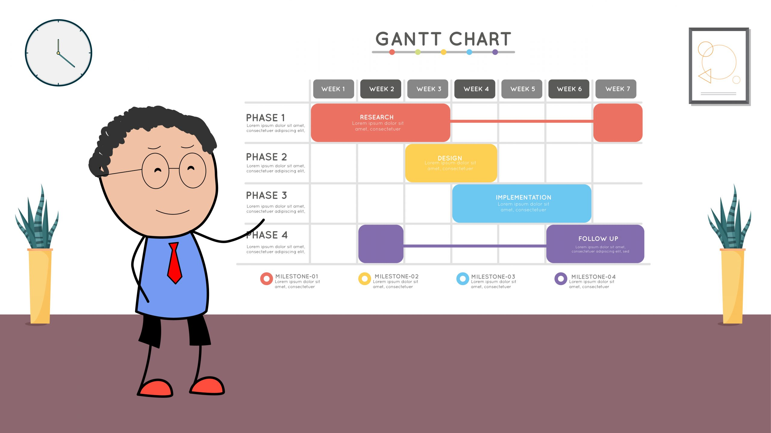 Learn All About Gantt Chart Templates To Perk Up Your Project Planning Plus A Few Gantt Chart Examples A Free Gantt Chart Template Slideuplift