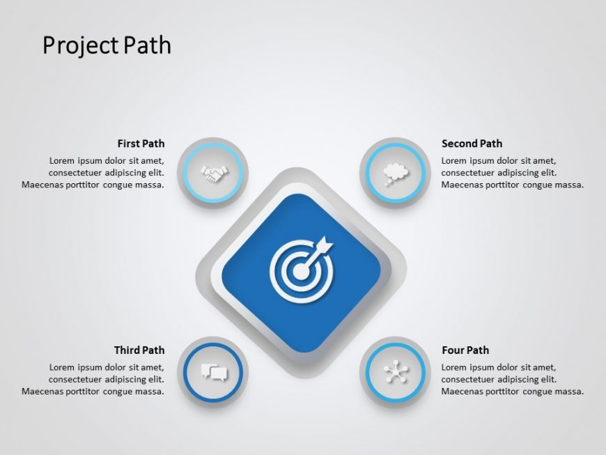 Project Path PowerPoint Template 1