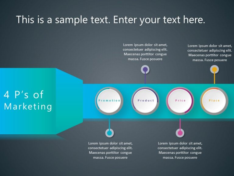 4Ps Marketing PowerPoint Template 5