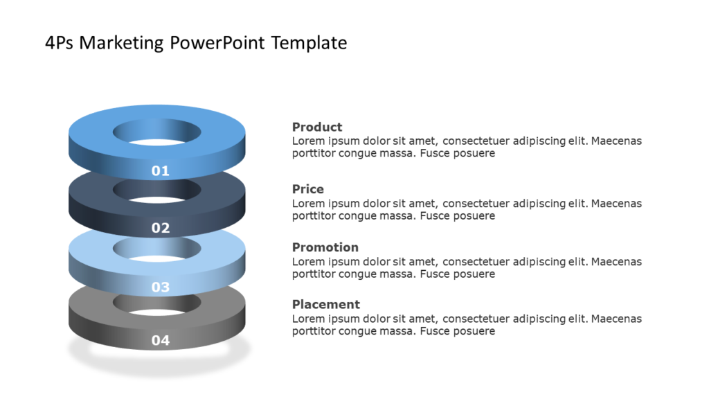 4Ps Marketing PowerPoint Template