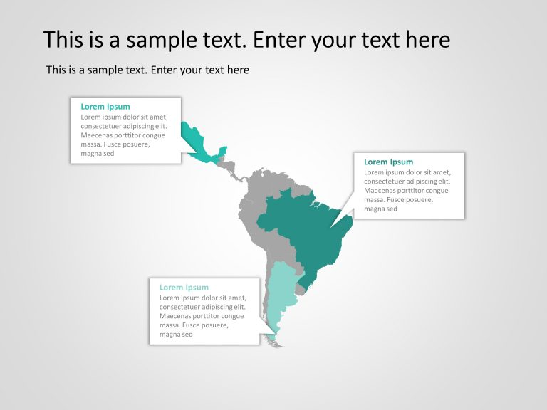 Latin America Powerpoint Template 4