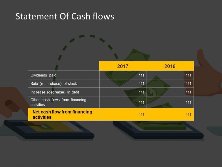 Cash flow statement powerpoint template 4