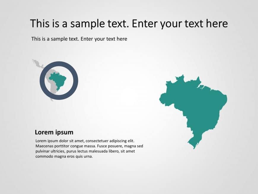 Latin America Powerpoint Template 5