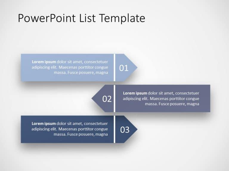 PowerPoint List Template 10