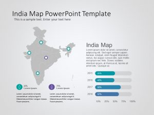 India Map Powerpoint Template 8