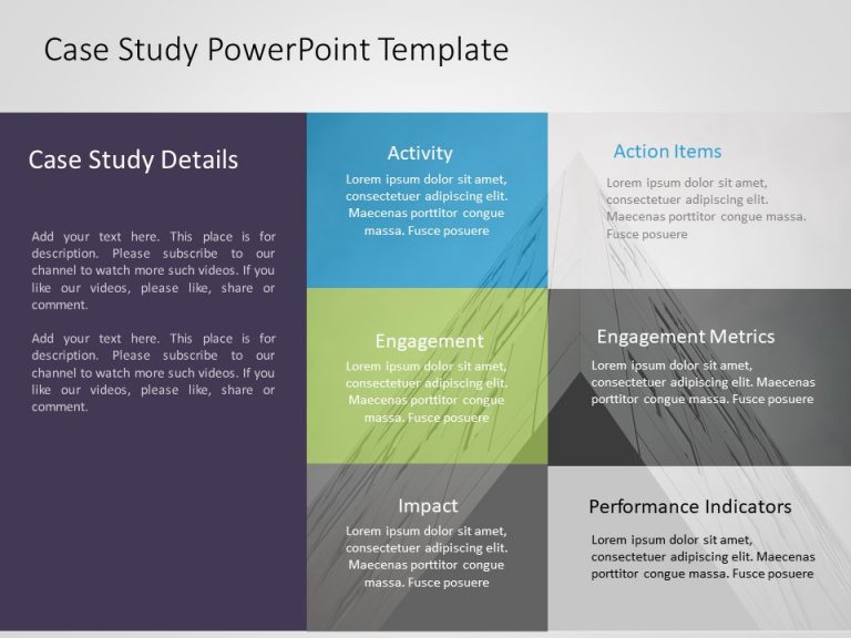 Case Study PowerPoint Template 13