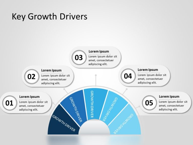 Business Growth Drivers PowerPoint Template 5