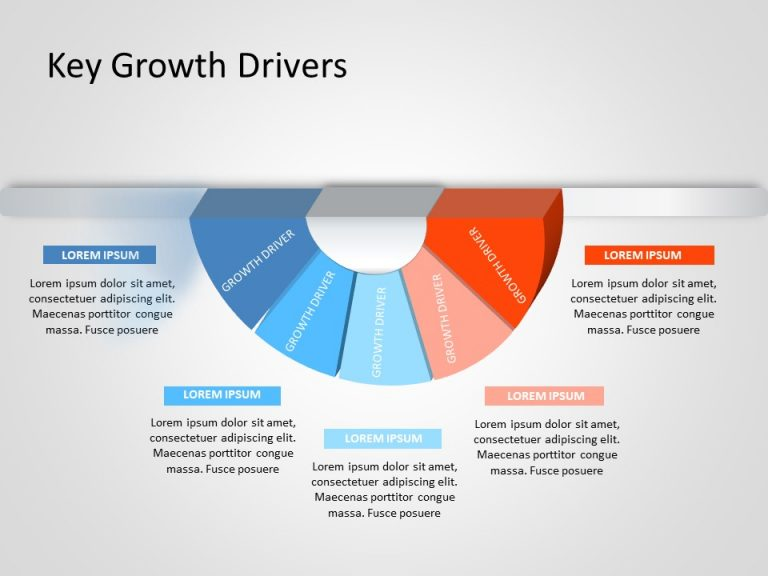 Business Growth Drivers PowerPoint Template 6