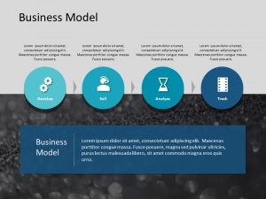 Business Model PowerPoint Template 1
