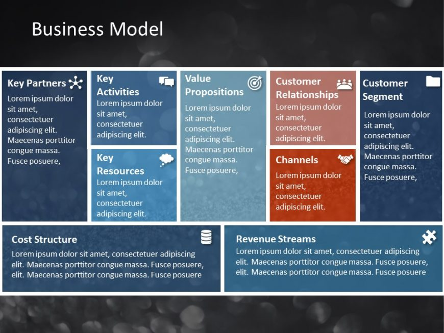 Business Model PowerPoint Template 2