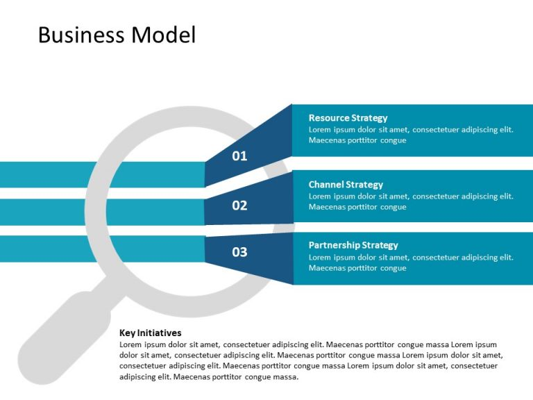 Business Model PowerPoint Template 4