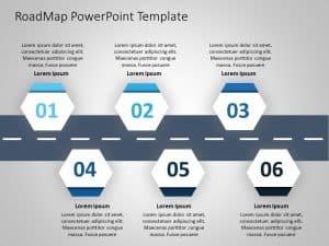 Business Roadmap PowerPoint Template 12