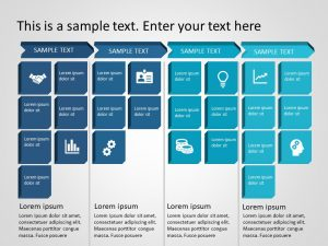 Business roadmap PowerPoint Template 2