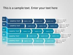 Business roadmap PowerPoint Template 3