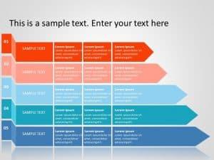 Business roadmap PowerPoint Template 4