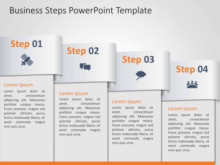 Business Steps PowerPoint Template