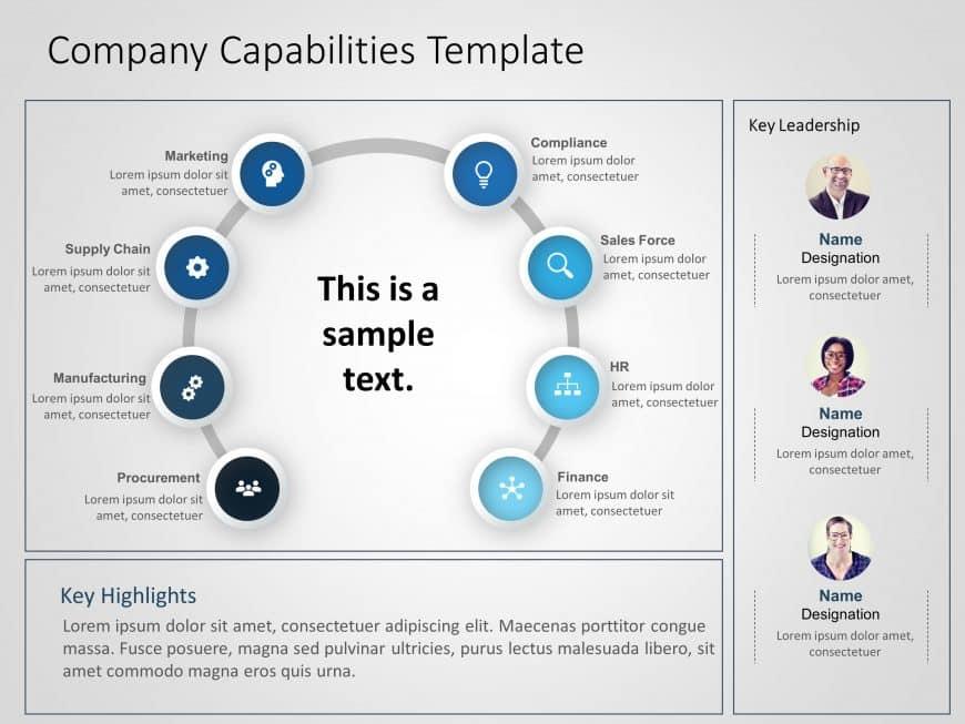 Company Capabilities PowerPoint Template