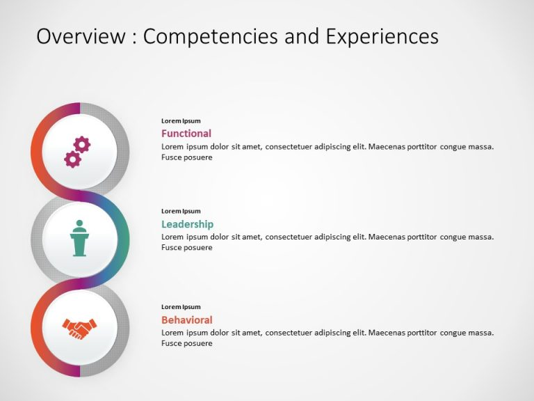 Competency Framework PowerPoint Template 4