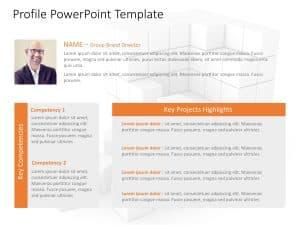 Employee Profile PowerPoint Template 6