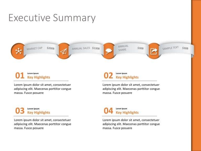 Executive Summary PowerPoint Template 23