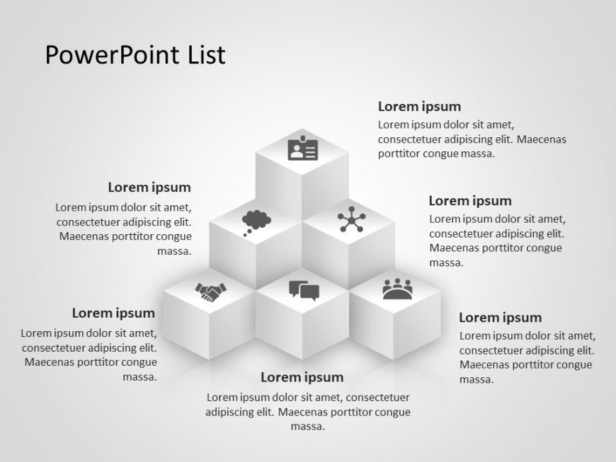 Product Features PowerPoint Template
