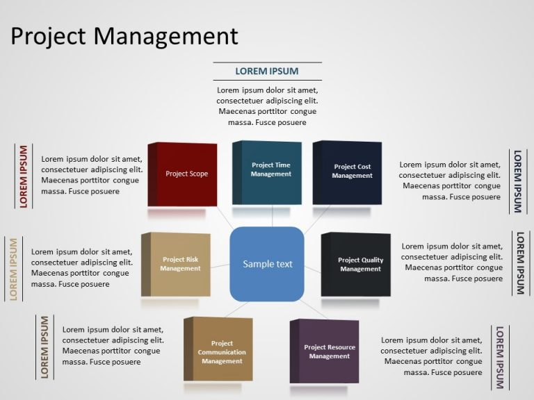 Project Management Powerpoint Template 4