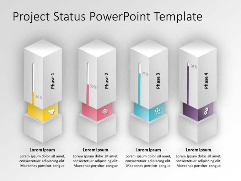 Project Status PowerPoint Template 2
