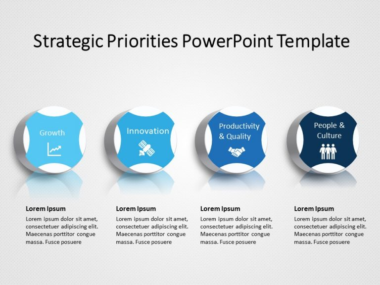 Strategic Priorities PowerPoint Template 1