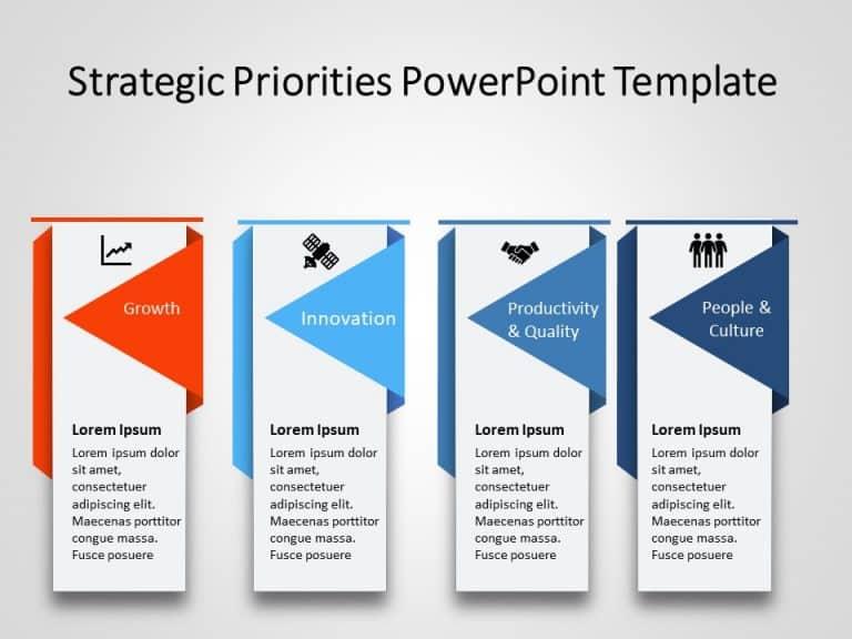 Strategic Priorities PowerPoint Template 2