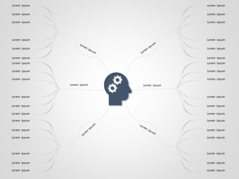 Mind Map PowerPoint Template 3