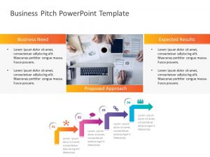 Business Pitch Executive Summary PowerPoint Template
