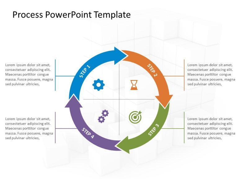 Business Process PowerPoint Template 12