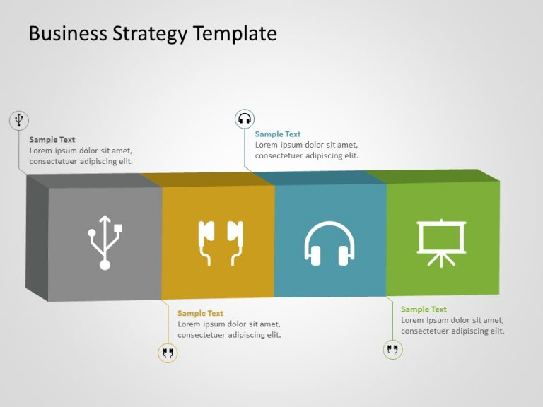 Business Strategy PowerPoint Template 14