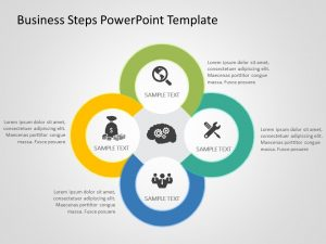 Business Steps PowerPoint Template 4