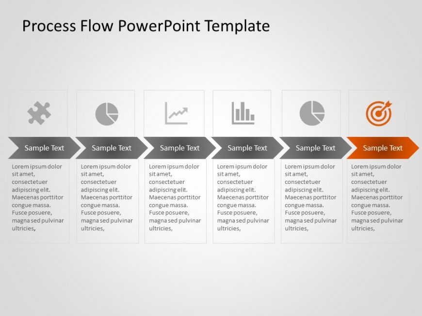 Business Process PowerPoint Template 13