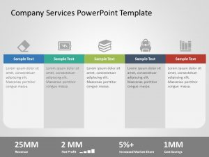 Company Services PowerPoint Template