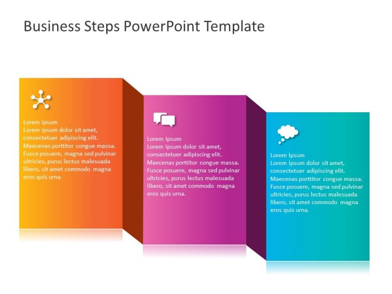 Business Steps PowerPoint Template 5