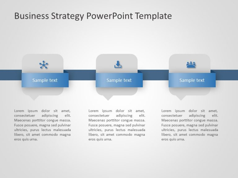 Business Strategy PowerPoint Template 15